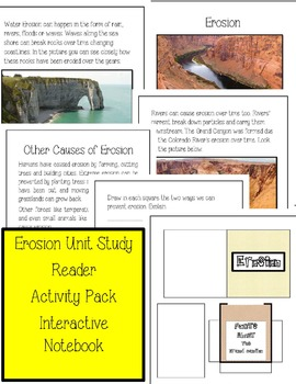 Erosion Unit Study