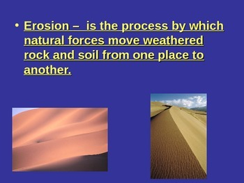 Erosion and Deposition - PowerPoint