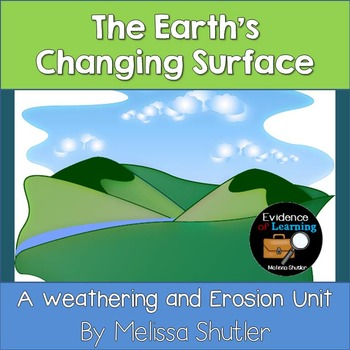 Erosion and Weathering- Nonfiction Information Sheets, Experiment, and Project