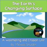 Erosion and Weathering- Nonfiction Information Sheets, Exp