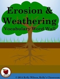 Erosion Vocabulary Word Wall