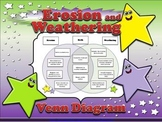 Erosion and Weathering Venn Diagram #2 - Compare and Contr