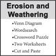 Erosion and Weathering Worksheet Packet