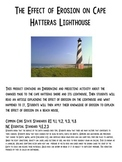 Erosion at Cape Hatteras Lighthouse