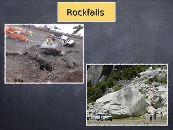 Erosion by gravity slideshow