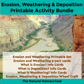 Erosion, weathering, deposition Unit Study