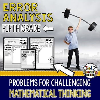Error Analysis: 5th Grade Math