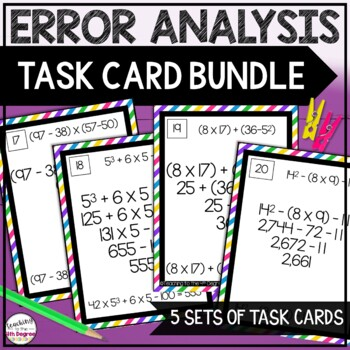 Error Analysis Bundle