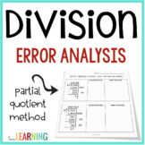 Error Analysis: Division with Partial Quotients
