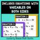 Error Analysis Equations Cards