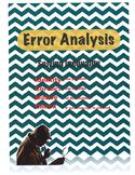 Error Analysis Inequality