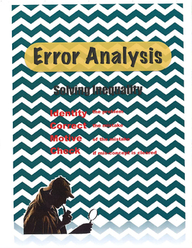 Error Analysis Inequality