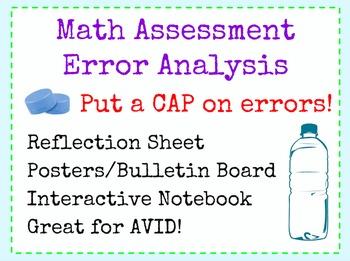 Error Analysis Math Assessment Retake Reflection AVID