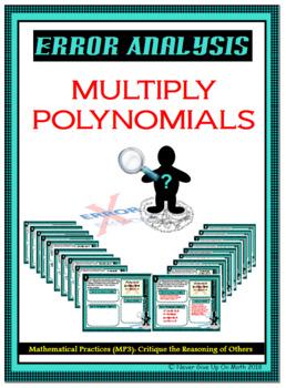 Error Analysis - Multiply Polynomials