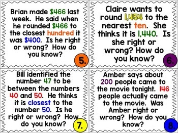 Error Analysis: ROUNDING! {A 3rd Grade Review Hunt}