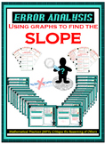 Error Analysis - Slope from Graphs Cards & Answers