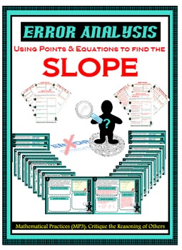 Error Analysis - Slope from Points & Equations