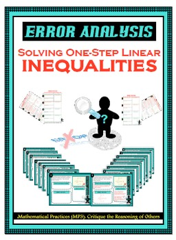 Error Analysis - Solving One-Step Linear Inequalities