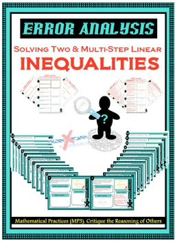 Error Analysis - Solving Two & Multi-Step Linear Inequalities