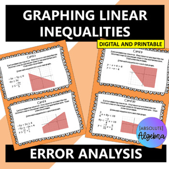 Error Analysis of Graphing Linear Inequalities