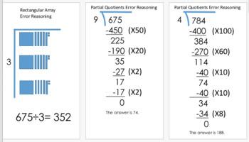 Error Reasoning Lesson