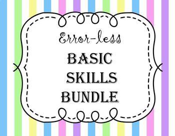 Error-less Basic Skills Bundle