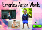 Errorless Action Words - Boom Learning Deck