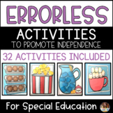 32 Errorless Activities to promote independence