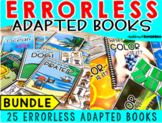 Errorless Adapted Books BUNDLE {12 color and 13 anytime books}