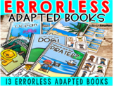 Errorless Adapted books (for anytime)