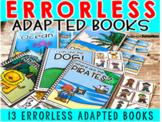 Errorless Adapted books (for anytime)