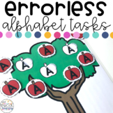 Errorless Alphabet Tasks for Special Education