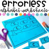 Errorless Alphabet Worksheets for Special Education