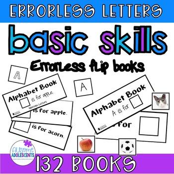 Errorless Alphabet interactive book BIG bundle