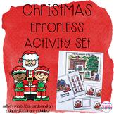 Errorless Christmas Activity Set