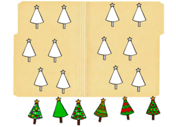 Errorless Christmas File Folders