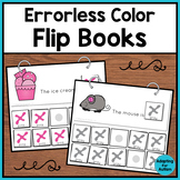 Errorless Color Matching Flip Books for Special Education and Autism