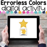 Errorless Colors - Digital Activity - Distance Learning fo