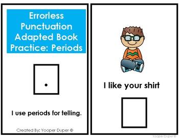 Errorless Comma Punctuation Practice Adapted Book