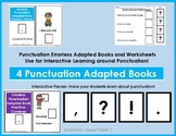 Errorless Learning Punctuation Practice Adapted Books and Worksheets