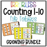 Errorless Counting File Folders for Special Education - Growing Bundle