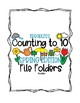 Errorless Counting File Folders for Special Education - Spring Edition