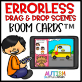 Errorless Drag & Drop Picture Scene Boom Cards™