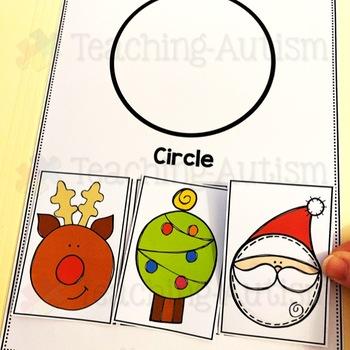 Errorless File Folder Activities Christmas