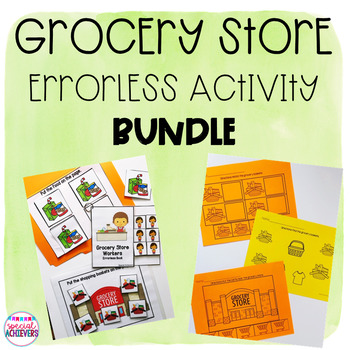 Errorless Grocery Store Activity BUNDLE