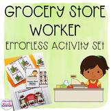 Errorless Grocery Store Worker Activity Set