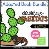 Errorless Habitats Adapted Books [9 books total!]