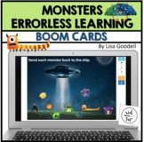 Errorless Learning BOOM CARDS Monsters