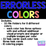 Errorless Learning - COLORS