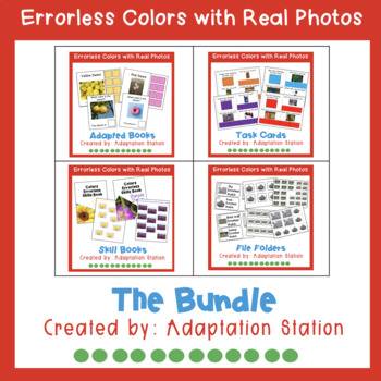 Errorless Learning: Colors with Real Photos Bundle (Growing Product)